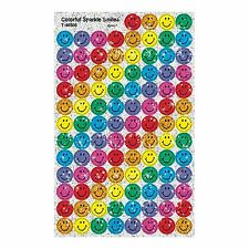 500 Sparkle Smiles Superspots Teacher & Parent Reward Stickers + Free Bookmark