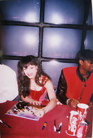 PRINCE MAYTE with Morris Hayes - NPG Birmingham 1995 Signing Session Orig PHOTO