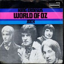 7inch WORLD OF OZ king croesus HOLLAND EX+  +PS