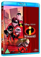 The Incredibles [Blu-ray Movie, Cgi Animation, Region Free, Disney Pixar] New