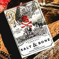 Rebellion Rum Salt & Bone Playing Cards Deck Brand New Sealed Poker