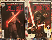 STAR WARS : THE RISE OF KYLO REN #4 - 1ST PRINT & 1:25 SET - NM! MARVEL 2020