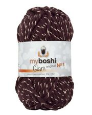 *WSV* myboshi Wolle No. 1 Glam Pailletten Effektgarn Farbe P6 Pluto