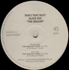 BLACK KISS - The Orgasm - Who s That Beat?