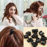 10pcs Mixed Plastic Small Hairpin Claws Clamps Hair Clips