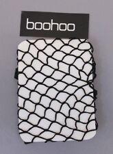 Boohoo Women's Plus Lisa Fishnet Tights JZ7 Black One Size NWT
