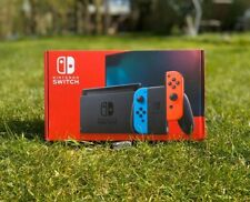 Nintendo Switch (Neon Red/ Blue) 32GB Console *Improved Battery*(IN HAND).