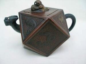 Superb Signed Vintage Chinese Yixing Teapot