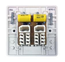 Materiales eléctricos de bricolaje enchufes blanco estándar