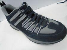 NOS Lands End blue / grey men's sneakers / shoes size 11D  ITEM # 86899