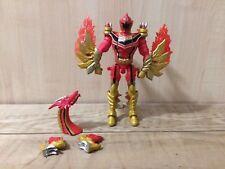 "Power Rangers 2005 Mystic Force Red Ranger to Fury Dragon  7"" Figure -  Bandai"