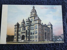 Early 1900's The Court House in Carthage, MO Missouri PC