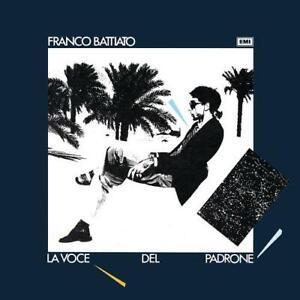 BATTIATO F. LA VOCE DEL PADRONE LP + CD