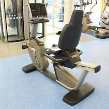 Technogym Excite+ 700i SP LED Recumbent Exercise Bike - Commercial Gym Equipment