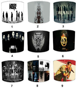 Linkin Park Lampshades Ideal To Match Bedding Duvets Curtains Cushion Covers