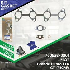 Gasket Joint Turbo FIAT Grande Punto JTD 760822-1 760822-5001S M737AT.19Z-413