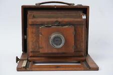 A beautiful wooden camera, + Carl Zeiss JENA Anastigmat f=110mm