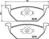 Mintex Front Brake Pad Set MDB2034  - BRAND NEW - GENUINE - 5 YEAR WARRANTY