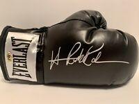 Hasim Rahman signed Everlast boxing glove. MAB certified