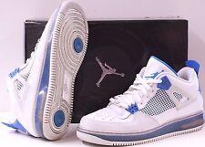 AIR JORDAN 4 IV AJF 364342 141 FUSION OFF WHITE MILITARY BLUE-NTRL GREY SIZE 12