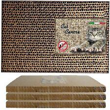 Cat Centre® Cardboard Scratcher Corrugated Scratching Sofa Bed Mat Post Pad