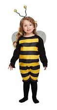 Toddler Bumble Bee Fancy Dress up Party Childs Costume Age 3 World Book Day