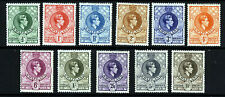 More details for swaziland king george v 1938-54 the full perf 13½x13 set sg 28 to sg 38 mint