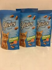 Lot Of 3 9 Lives Crunchy Treats Chicken & Turkey Flavor 2.1 oz bags Exp. 6/21/20