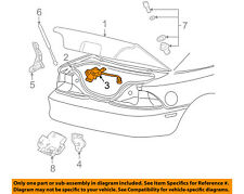 FORD OEM 08-09 Mustang Trunk-Lock or Actuator Latch Release 8R3Z5443200A