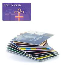 500 Tessere Badge Fidelity card  86x54mm stampa grafica logo personalizzata