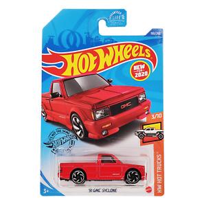 HOT WHEELS '91 GMC Syclone Red Pickup HW Hot Trucks GHF13 2020