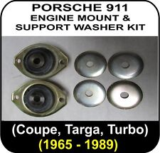 [S1] 2 x OEM Porsche 911 ENGINE MOUNT KIT 1965 to 1989 with washers gearbox SC