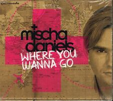 CD Album: Mischa Daniels: where you wanna go. armada. D2