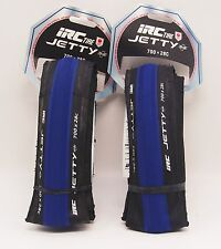 IRC Jetty Plus 700x28C Road Bicycle Tire Blue (pair)