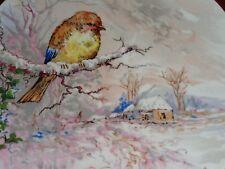 La Reine Limoges Porcelain France Bird Collectors Plate #1