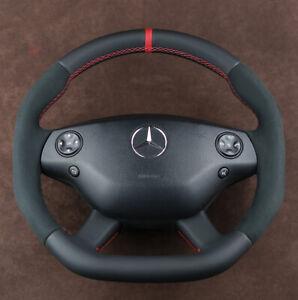 OEM Mercedes custom steering wheel flat bottom W221 W216 CL63 S63 S65 CL65 AMG