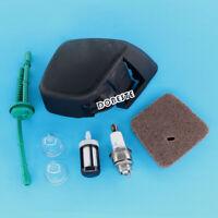 Air Filter & Cover Kit For Stihl FS38 FS45 FS45C FS45L FS46 FS46C FS55T FS55C