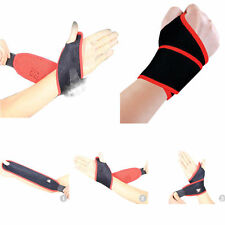 Gym Soft Wristband Sports Wrist Joint Brace Support Wrap Band Guard Protector