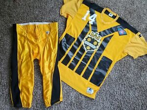 1994 Neil O'Donnell Pittsburgh Steelers Team Issued NFL Jersey & Pants 48 Game