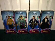 "Star Trek 9"" Playmates KB Toys ALL LIMITED TO 5,000 Captain Kirk Spock Vulcan +"