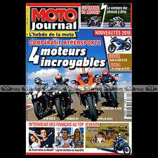 MOTO JOURNAL N°1869 PIAGGIO MP3 400 LT KTM RC8 R SUZUKI RB 50 GAG GSXR 1000 2009