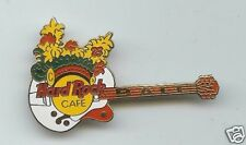 Hard Rock Pin Bali White Gibson Birdland W/ Flower Head