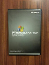 Microsoft Windows Server 2003 Enterprise x86 25 CAL RETAIL Commercial P72-00001