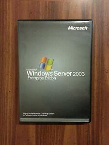 Microsoft Windows Server 2003 Enterprise x86 25 CAL RETAIL Commercial P72-00001