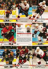 2003-04 ITG In The Game Action Ottawa Senators Complete Team Set (20)