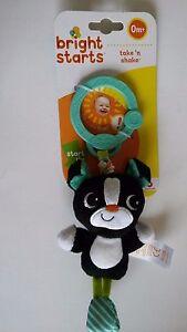 Bright Starts Take And Shake Dog, Pull Toy, Pram Toy, Lovely Baby Gift! 0M+