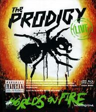 THE PRODIGY – LIVE - WORLD'S ON FIRE BLU-RAY & CD (NEW/SEALED)