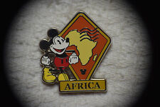 Disney WDW Hidden Mickey Continent Stamps Africa Pin Authentic