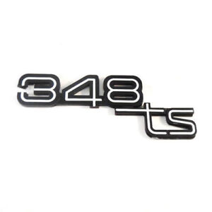 Genuine Ferrari 348TS Emblem Brand New for 89-92 Rear Hood Part #62696700