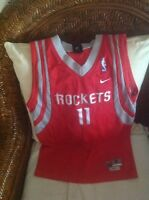 5c17c56e1 Throwback Houston Rockets Yao Ming  11 NBA Jersey Navy Blue Adult XL ...